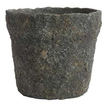 Szarozielona doniczka Mosu 16 z cementu MUUBS