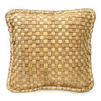 Naturalna poduszka dekoracyjna 40x40 Hyacinth z hiacyntu wodnego BAZAR BIZAR