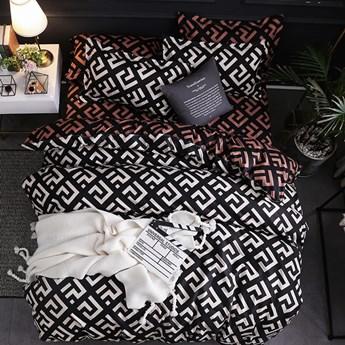 Pościel dwustronna bawełniana 160x200 cm Cotton World komplet 3 części PAR-160(3)121 | Kup teraz®