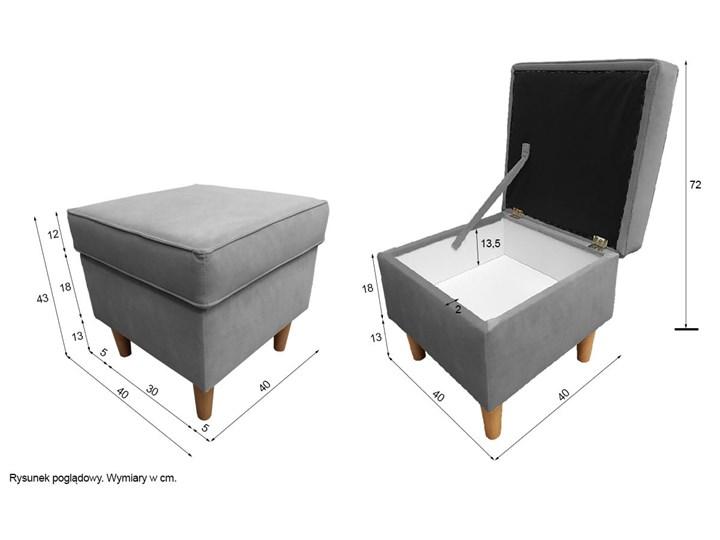 Fotel z podnóżkiem USZAK 3 / kolory do wyboru Fotel uszak Szerokość 74 cm Wysokość 103 cm Drewno Kategoria Fotele do salonu