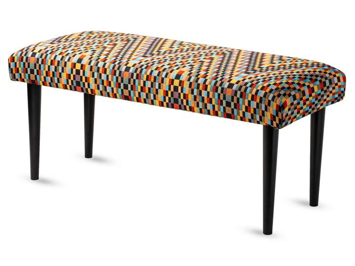 Ławka tapicerowana Modello Pikowana Materiał nóżek Drewno Kategoria Ławki do salonu