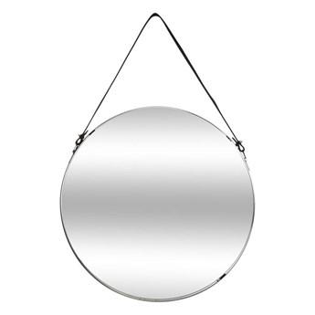 Okrągłe lustro ścienne na pasku 38 cm