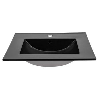 Nowoczesna umywalka E-8003-60 MATT BLACK
