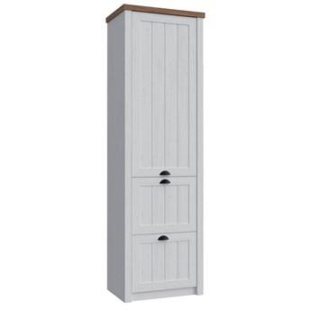 Prowansja Andersen S1D2S - szafa 1-drzwiowa 2 szuflady