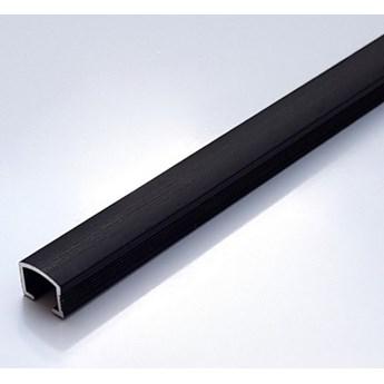 Egen Listwa dekoracyjna aluminiowa 1x244 cm czarny mat