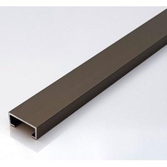 Egen Listwa dekoracyjna aluminiowa 2x244 cm bronze mat