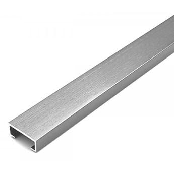 Egen Listwa dekoracyjna aluminiowa 2x244 cm srebrna
