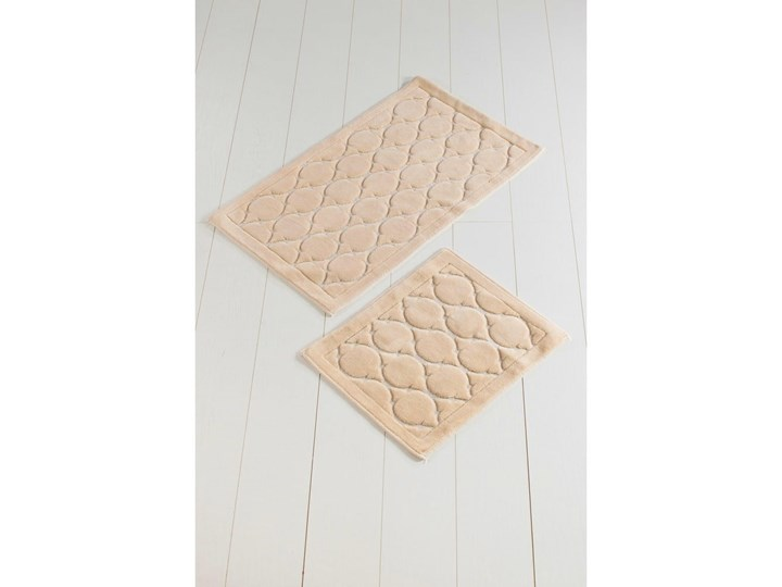 Zestaw 2 dywaników łazienkowych Dante Prostokątny 60x100 cm Kategoria Dywaniki łazienkowe 50x60 cm Kolor Biały