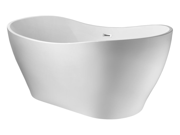 Wanna wolnostojąca Corsan E302 Stella 170 cm z wykończeniem chrom Stal Akryl Wolnostojące Kategoria Wanny