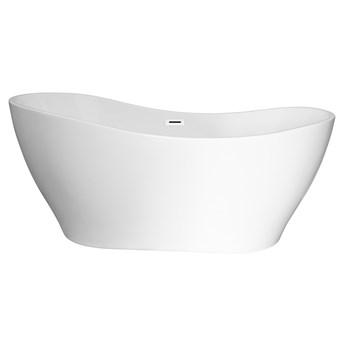 Wanna wolnostojąca Corsan E302 Stella 170 cm z wykończeniem białym