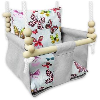 Kubełkowa huśtawka dla dzieci motylki - Beti