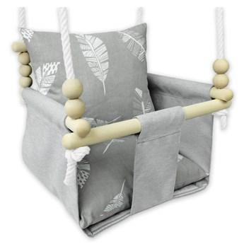 Kubełkowa huśtawka dla niemowlaka piórka - Beti