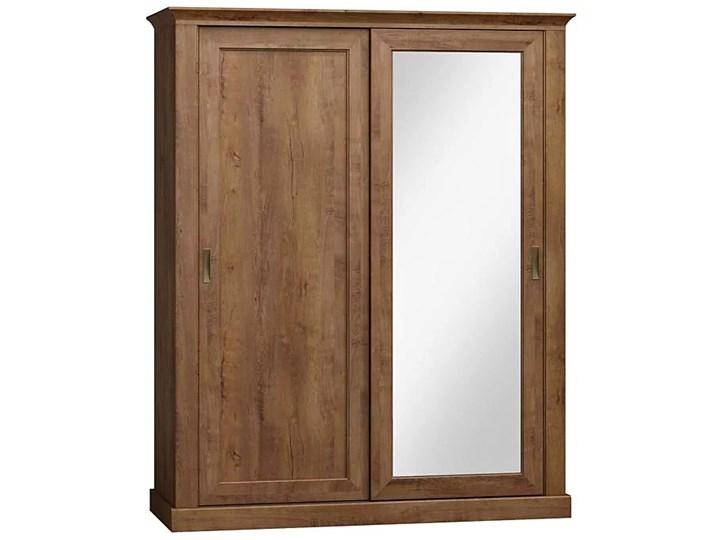 Przesuwna szafa w odcieniu jesion jasny  - Almira 3X Rodzaj drzwi Przesuwne Styl Skandynawski