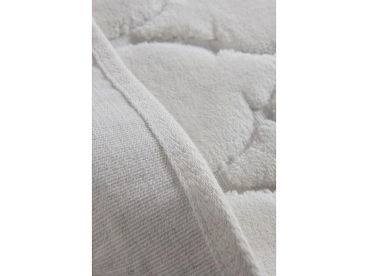 Zestaw 2 dywaników łazienkowych ze 100% bawełny Dante Ecru 60x100 cm Prostokątny Bawełna 50x60 cm Kolor Beżowy