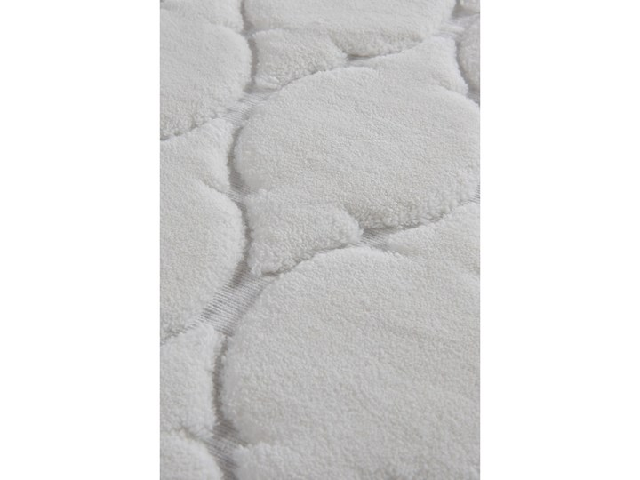 Zestaw 2 dywaników łazienkowych ze 100% bawełny Dante Ecru 50x60 cm 60x100 cm Prostokątny Bawełna Kategoria Dywaniki łazienkowe
