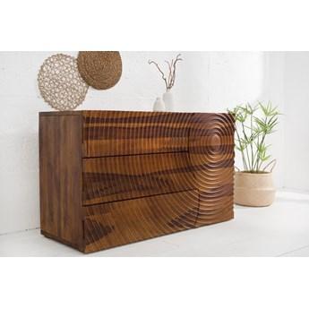 Komoda drewniana Illusion 120x47 cm / ręcznie robiona