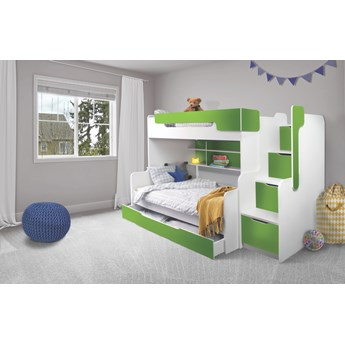 Łóżko piętrowe 3 osobowe HARRY