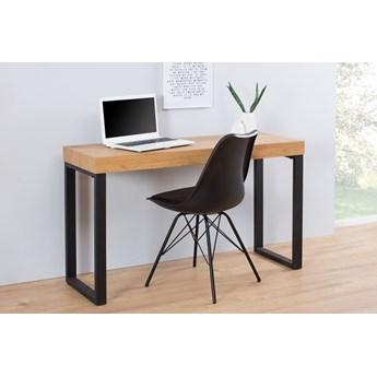 Biurko, konsola OAK Desk 120x40 cm na metalowej ramie