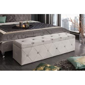 Skrzynia tapicerowana, ławka Extravagancia 140x39 cm