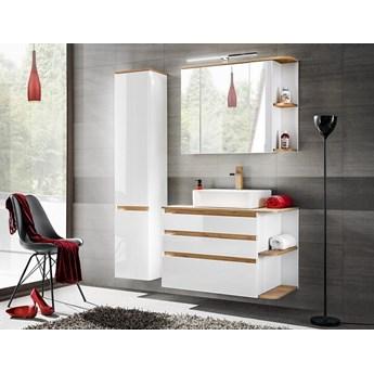 Zestaw mebli łazienkowych Platinum biały, nowoczesny