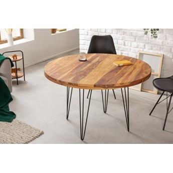 Stół do jadalni Makassar FI120 cm / lite drewno sheesham