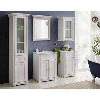 Zestaw białych mebli łazienkowych Palace White stylizowane