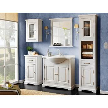 Zestaw mebli łazienkowych drewnianych Romantic set 85