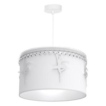 Lampa wisząca BALETNICA WHITE 1xE27