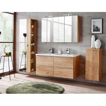 Zestaw mebli łazienkowych Capri Oak set 120D - dwustanowiskowy
