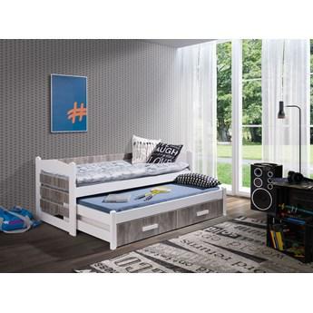 Łóżko piętrowe 2 osobowe TIAGO