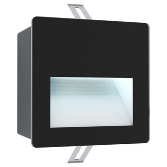 Eglo 99574 - LED Zewnetrzna oprawa wpuszczana ARACENA LED/3,7W/230V IP65 czarna
