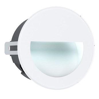 Eglo 99577 - LED Zewnetrzna oprawa wpuszczana ARACENA LED/2,5W/230V IP65 biała
