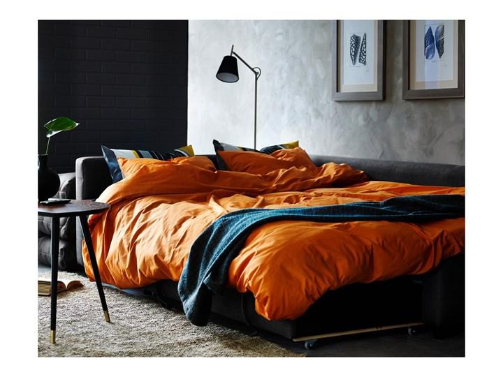 IKEA FRIHETEN Narożnik z funkcją spania, z dodatkowymi poduchami oparcia/Skiftebo ciemnoszary, Szerokość: 230 cm Lewostronne Rozkładanie Rozkładany Styl Nowoczesny