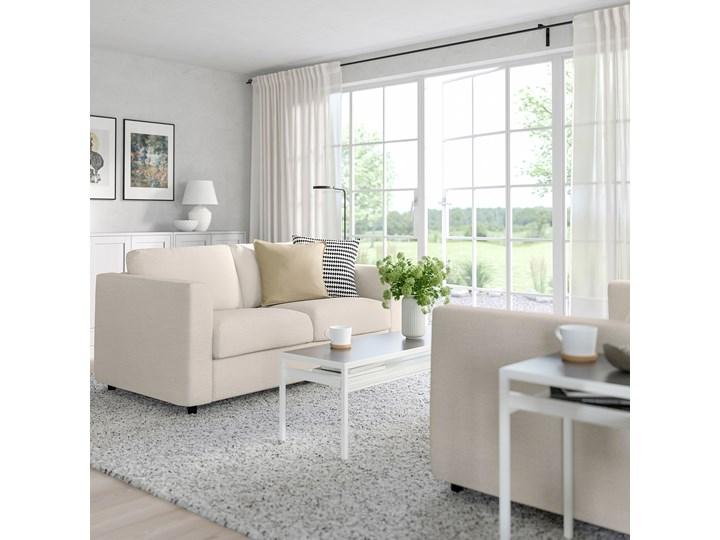 IKEA VIMLE Sofa 2-osobowa rozkładana, Gunnared beżowy, Wysokość łóżka: 53 cm Głębokość 98 cm Szerokość 190 cm Materiał obicia Tkanina