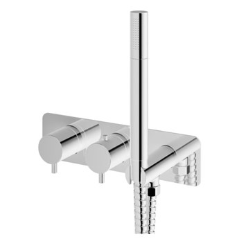 Kohlman Axel bateria wannowa termostatyczna podtynkowa QW265A
