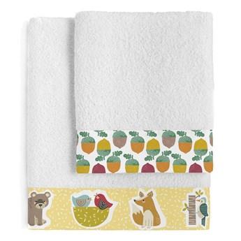 Zestaw 2 ręczników dziecięcych Moshi Moshi Harvestwood