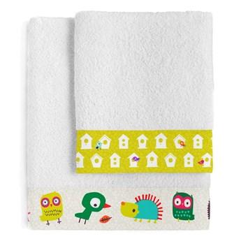 Zestaw 2 dziecięcych bawełnianych ręczników Moshi Moshi House