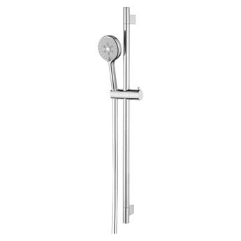 Ribbon zestaw prysznicowy suwany chrom RIBBON-SCR