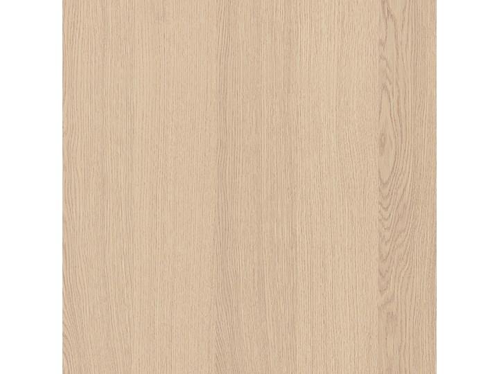 IKEA MALM Rama łóżka z 4 pojemnikami, Okleina dębowa bejcowana na biało, 140x200 cm Łóżko drewniane Drewno Kolor Beżowy