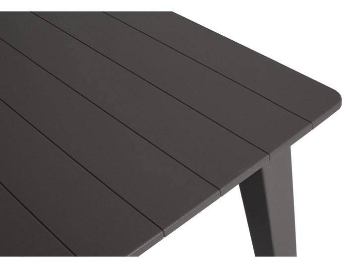 Meble ogrodowe 6-osobowe EVA+LIMA - grafitowe Stoły z krzesłami Zawartość zestawu Stół Zawartość zestawu Krzesła