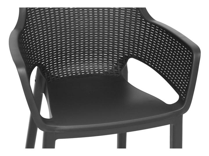 Meble ogrodowe 6-osobowe EVA+LIMA - grafitowe Zawartość zestawu Stół Stoły z krzesłami Zawartość zestawu Krzesła