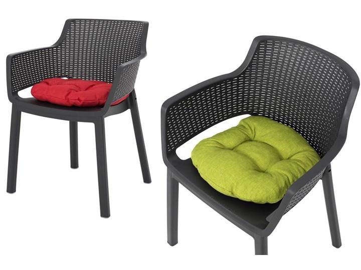 Meble ogrodowe 6-osobowe EVA+LIMA - grafitowe Stoły z krzesłami Zawartość zestawu Stół