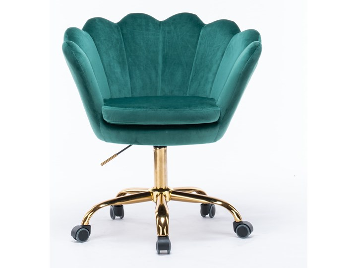 KRZESŁO OBROTOWE SC-ZT8255 ZIELONY WELUR Tapicerowane Pikowane Styl Nowoczesny Kategoria Krzesła kuchenne