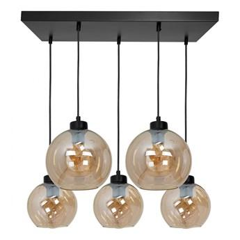 Lampa wisząca SOFIA AMBER 5xE27 MLP6592 MiLAGRO MLP6592