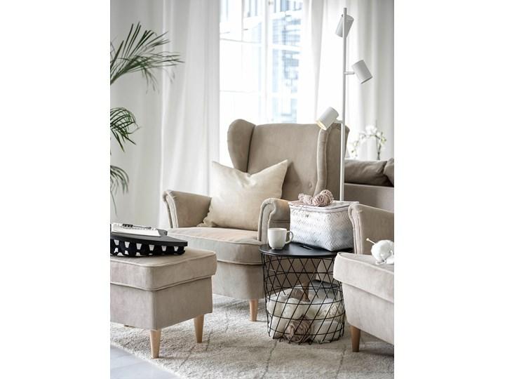 IKEA STRANDMON Fotel uszak, Kelinge beżowy, Szerokość: 82 cm Drewno Tkanina Tworzywo sztuczne Pomieszczenie Salon