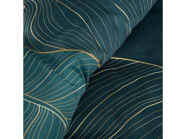 Pościel 220x200 makosatyna bawełniana turkusowa bezowa, premium bawełna hiszpańska 200x220 cm Rozmiar poduszki 70x80 cm