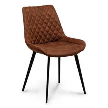 Krzesło kubełkowe pikowane Palermo