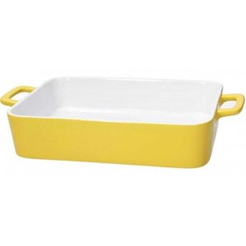 Naczynie do zapiekana Tognana Happiness, żółte, 35 x 20 cm