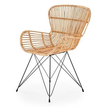 SELSEY Krzesło Balido z naturalnego rattanu
