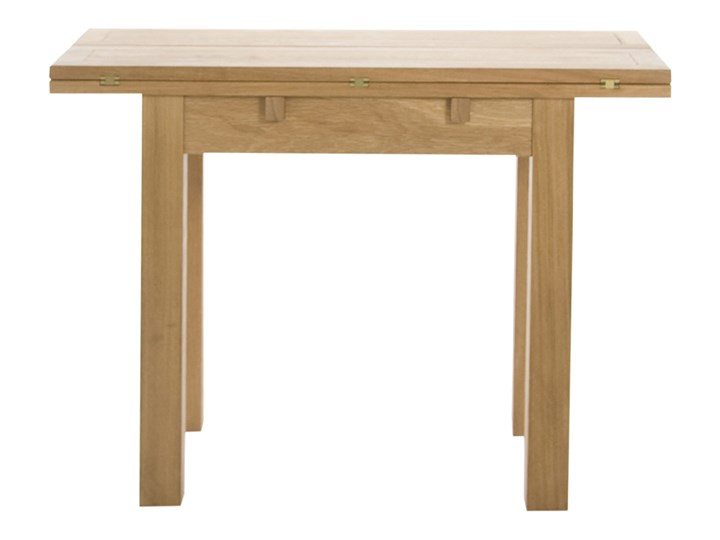 SELSEY Stół rozkładany Gradac 45-90x100 cm Szerokość 55 cm Długość 90 cm  Szerokość 45 cm Drewno Długość 45 cm Wysokość 75 cm Szerokość 90 cm Rozkładanie Rozkładane